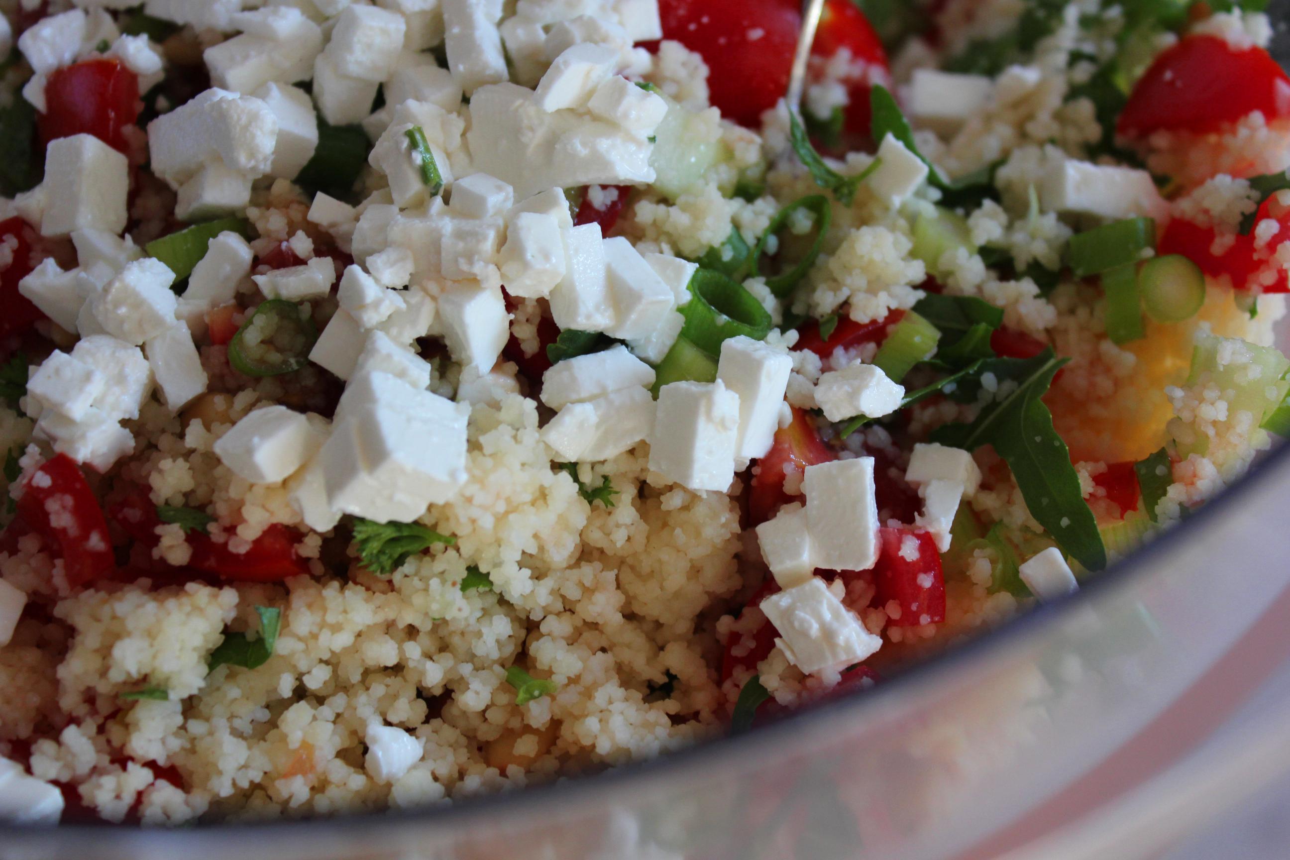 Griekse couscous salade | Gewoon een foodblog!