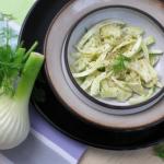 venkelsalade, salade venkel, fennelsalad