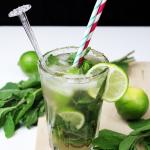 Mojito cocktail met munt